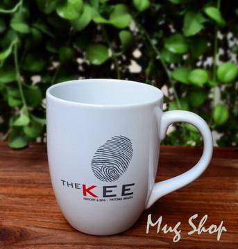 สกรีนแก้ว ลาย The Kee