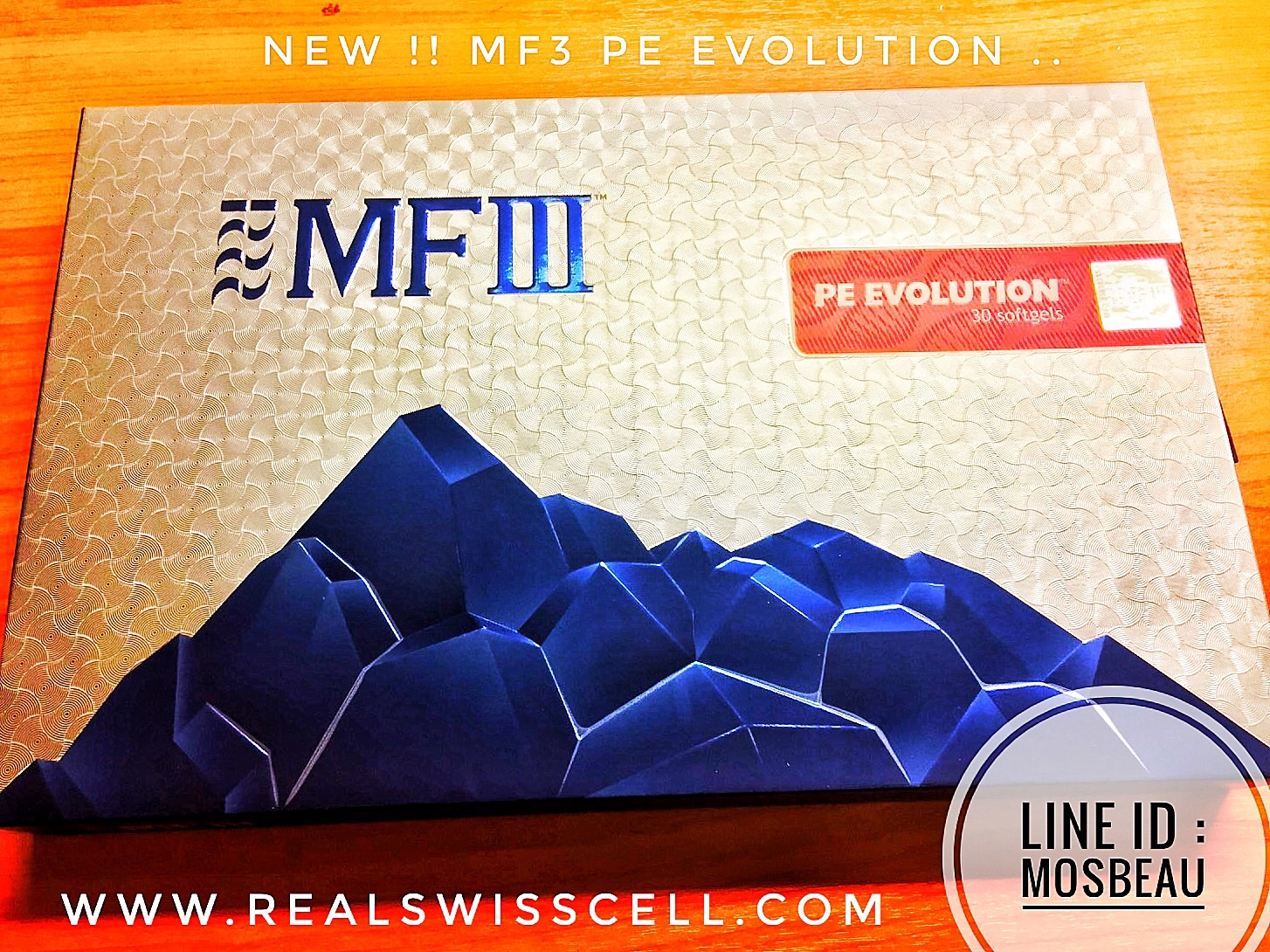 NEW...MF3 PE EVOLUTION Enhanced formulation of Sheep Placenta Extracts with Premium Fish DNA Cellular Extracts
