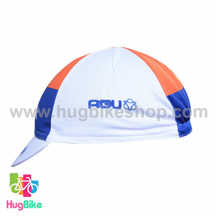 หมวกแก๊บ Rabobank 15 (01) สีขาวน้ำเงินแดง