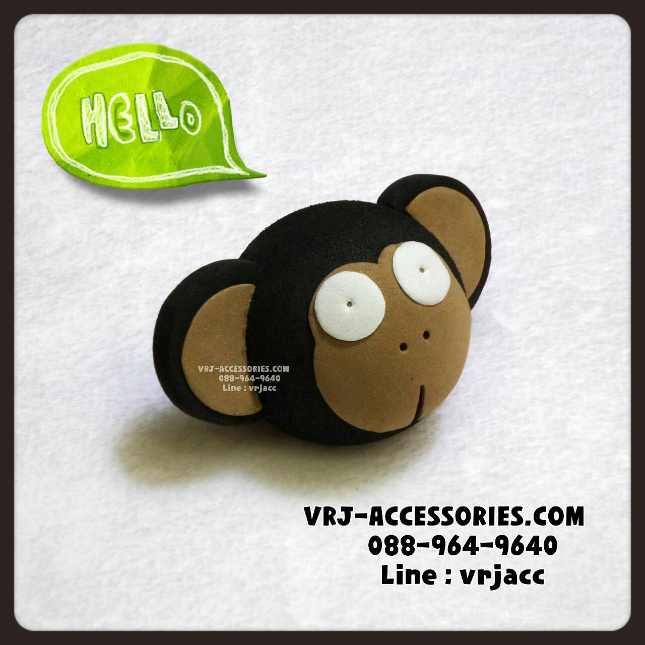 Vj1474 ลูกบอลเสียบเสาอากาศ ลิง: Antenna topper