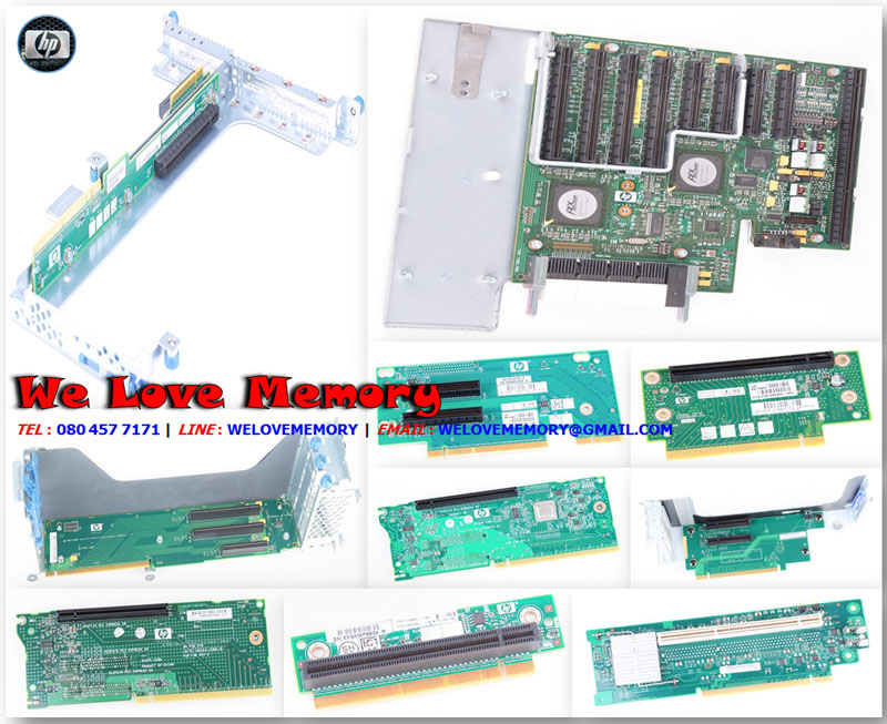 450175-00A [ขาย จำหน่าย ราคา] HP PCIe 2 slot Riser Board for Proliant DL185 G5
