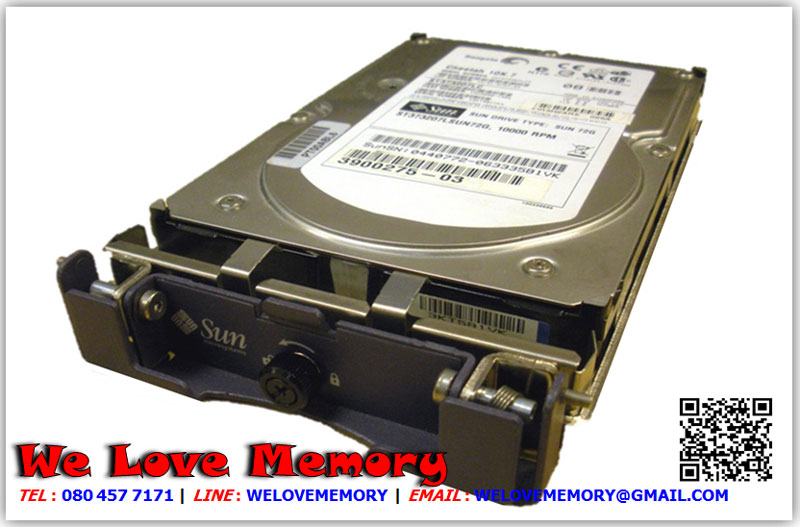 390-0364 [ขาย จำหน่าย ราคา] Sun 73.4GB 3.5inch (Hitachi HUS153073VLF400) 15K Rpm Sun FC-AL Hard Drive | Sun