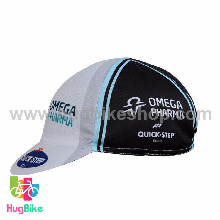 หมวกแก๊บ QuickStep 14 (01) สีขาวดำ