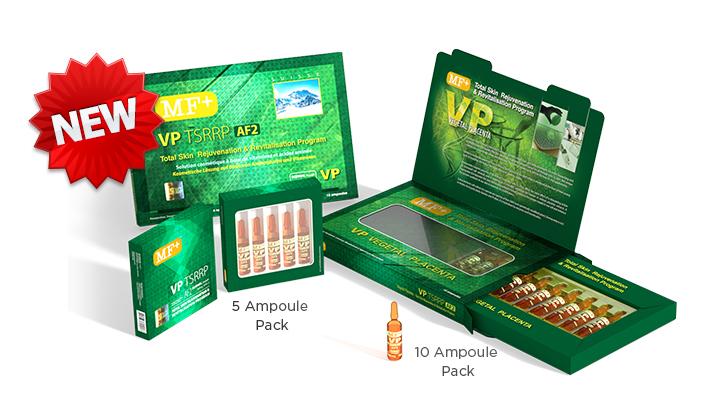 MF Plus VP TSRRP AF2 Total Skin Rejuvenation and Revitalization Program (Vegetal Placenta) Look And Feel Younger