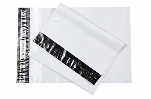 ซองไปรษณีย์พลาสติก สีขาว ขนาด 7.5 X 10.5 นิ้ว (19 X 26.7 ซม.) ซองละ 1.7 บาท