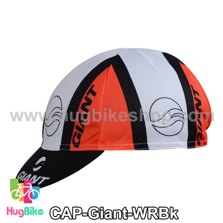 หมวกแก๊บ Giant 14 (01) สีขาวแดงดำ