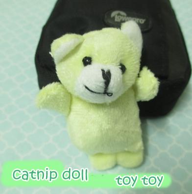 ตุ๊กตาหมี ใส่แคทนิป (catnip toy)
