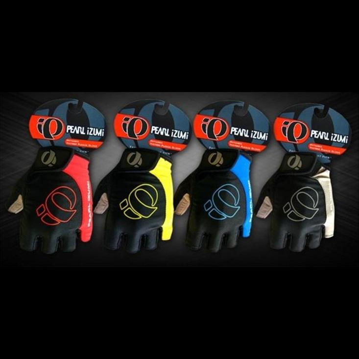 ถุงมือจักรยานครึ่งนิ้ว รุ่น PEARL IZUMI สีดำ