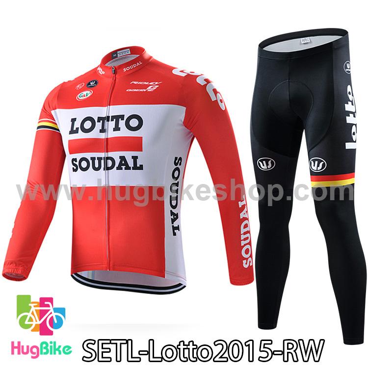 ชุดจักรยานแขนยาวทีม Lotto Soudal 15 สีส้มขาว สั่งจอง (Pre-order)