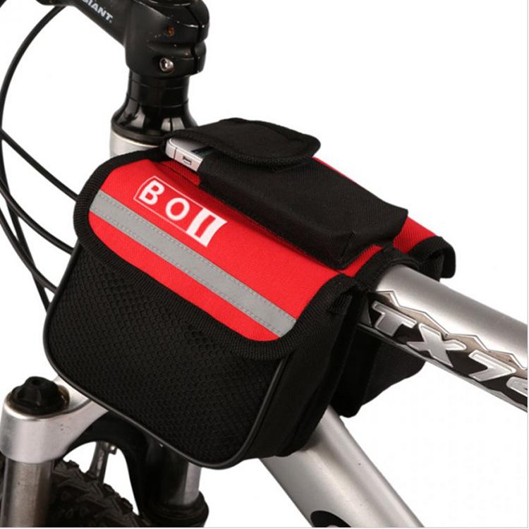 กระเป๋าจักรยาน พาดเฟรม รุ่น BOI 12850