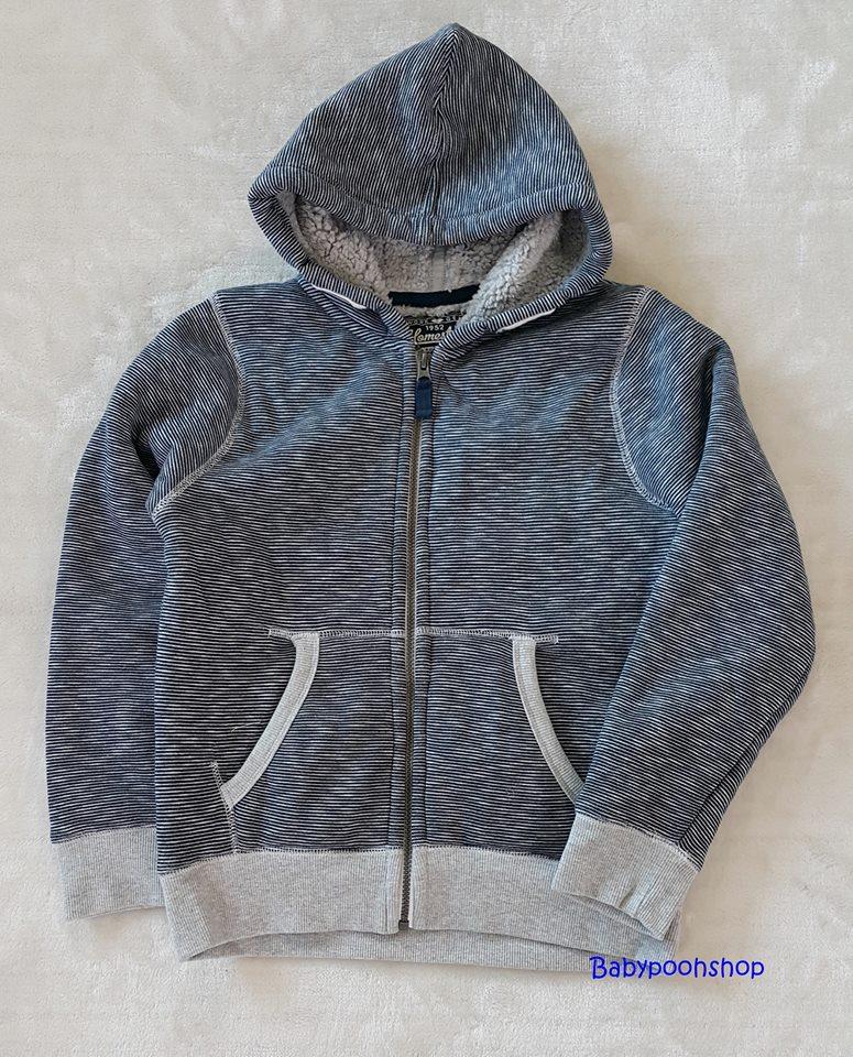 Homestate : แจ็คเก็ทกันหนาวซิปหน้า สีเทา อุ่นมาก ด้านในบุผ้าสำลี size : 158/164 (14-16y) , 170/176 (16y+)