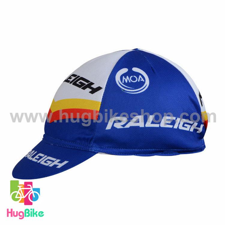 หมวกแก๊บ Raleigh 17 (01) สีน้ำเงินขาวส้ม