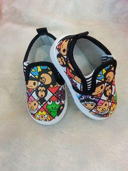 รองเท้าเด็ก ลายการ์ตูน
