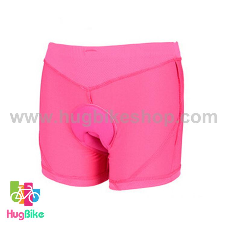 กางเกงจักรยาน Boxer AT cycle zone กางเกงสีชมพู เป้าเจลสีชมพู