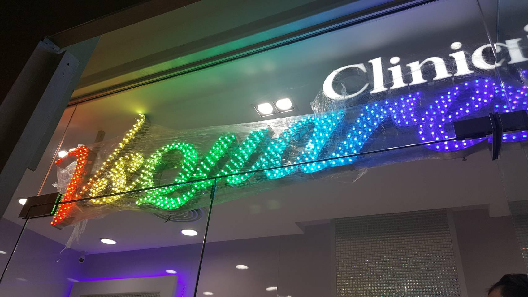ติดตั้งป้ายชื่ออร้าน LED