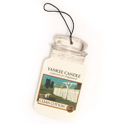 Yankee Candle car jar singles กลิ่น Clean Cotton