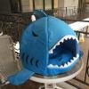 ที่นอนโดมปลาฉลาม สำหรับสัตว์เลี้ยง