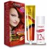 ครูเซ็ท ครีมย้อมผม รุ่น A เอ 916 สีส้มแดง Cruset Hair Colour Cream A Series A 916 Red Copper Blond 60 ml.