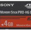 Sony Memory Stick Pro-HG Duo HX - 4GB