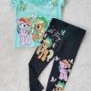 Set เสื้อ กางเกง โพนี สีเขียวสวย size : 2-4y / 8-10y / 10-12y