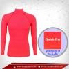 เสื้อรัดกล้ามเนื้อ รุ่น Quick Dry มีรูระบายอากาศ สีชมพู deeppink