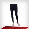 กางเกงรัดกล้ามเนื้อ ขายาว สีดำ