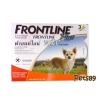 ผลิตภัณฑ์กำจัดเห็บ หมัด ฟรอนท์ไลน์ พลัส (Frontline Plus) Dog น้ำหนักไม่เกิน 10 กิโลกรัม อายุ 8 สัปดาห์ขึ้นไป