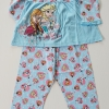 Disney : set ชุดนอนเสื้อแขนยาว พร้อม กางเกงขายาว ลาย Frozen สีฟ้า size : 10 (9-10y)