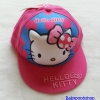 หมวก Kitty สีชมพูเข้ม