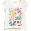 H&M : เสื้อยืด สกรีนลายม้าโพนี่ สีขาว (งานช้อป) size : 1-2y / 2-4y / 8-10y / 10-12y / 12-14y