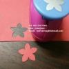 Punch เจาะกระดาษ ดอกไม้ 5กลีบ 1นิ้ว (2.5cm)