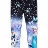 H&M leggings ลายเจ้าหญิง Elsa size : 1.5-2y / 10-12y