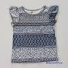 H&M : เสื้อยืดแขนสั้น ลายสีน้ำเงิน (งานแท้ตัดป้าย) size : 2-4y / 4-6y