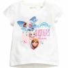 H&M : เสื้อยืดสกรีนลาย Frozen sister สีขาว (งานช้อป) size : 1-2y