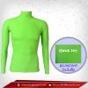 เสื้อรัดกล้ามเนื้อ รุ่น Quick Dry มีรูระบายอากาศ สีเขียวใบเตย