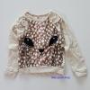 H&M : Sweater ลายกวาง สีน้ำตาล ด้านหน้าเป็นขนนุ่มๆ ด้านหลังมีลายหางเล็กๆ น่ารักมากค่ะ Size : 10-12y