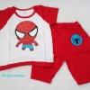 Carter's : เสื้อ+กางเกง ลาย Spider baby สีแดง Size : 4T / 5T