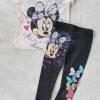 Set เสื้อ กางเกง minnie ชมพูอ่อน size : 2-4y / 4-6y / 8-10y / 10-12y