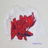 H&M : เสื้อแขนยาว สกรีนลาย Spiderman สีขาว size : 1-2y / 10-12y / 12-14y