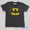 H&M : เสื้อยืด ลาย batman สีดำ งานช๊อป