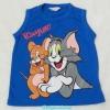 H&M : เสื้อกล้าม Tom&Jerry สีน้ำเงิน size : 2-4y / 6-8y