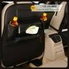 กระเป๋าใส่ของหลังเบาะรถยนต์ ที่เก็บของหลังเบาะรถยนต์ (สีดำ) หนังเทียม PU