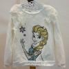 H&M : เสื้อแขนยาวสีขาว ลายเจ้าหญิงเอลซ่า Size : 1.5-2y