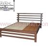 เตียงเหล็ก รุ่นระแนงนอนพาดเสา