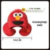 หมอนรองคอ ตัวยู มีฮู๊ต คุกกี้มอนสเตอร์ เอลโม่ สีแดง Sesame Street cookie monster