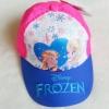 หมวก ลายปัก เจ้าหญิง Frozen สีชมพู-น้ำเงิน