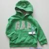 Gap : กันหนาว Gap แบบสวมมีฮูด สีเขียว Size : 2