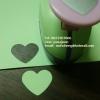 Punch เจาะกระดาษ รูปหัวใจ 1นิ้ว (2.1-2.5cm)