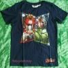 H&M : เสื้อยืด สกรีนลาย Avenger สีกรม size : 6-8y / 12-14y