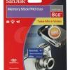 Sandisk Memory Stick Pro Duo 8GB